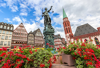 Casco antiguo de Frankfurt